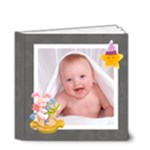 Blanky Bunny baby monochrome brag book 4 x 4 20 page - 4x4 Deluxe Photo Book (20 pages)