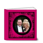 Fantasia Perfect Day Cerise Wedding Album 4 x 4 20 page - 4x4 Deluxe Photo Book (20 pages)