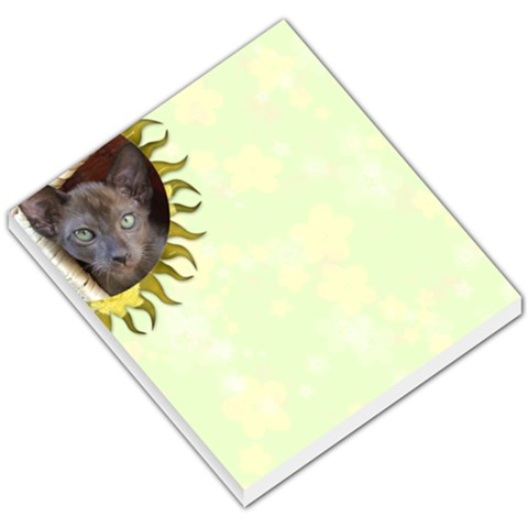 Lime Juice Memo Pad By Joan T   Small Memo Pads   I8g7tldcqzcl   Www Artscow Com