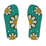 Kid Blue Flower Flip Flops - Kid s Flip Flops