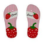strawberries flip flops 01 - Kid s Flip Flops