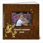 Aiyana s summer 2010 book - 8x8 Photo Book (20 pages)