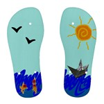 Sea - Woman s flip flops - Women s Flip Flops