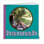 for hannah book - 6x6 Photo Book (20 pages)