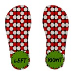 Left and right - Woman s flip flops - Women s Flip Flops