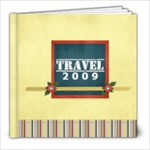 8x8 (20 pages) template- TRAVEL - 8x8 Photo Book (20 pages)