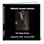 Michael Jackson 1 - 8x8 Photo Book (20 pages)