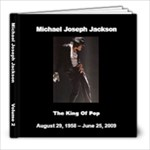 Michael Jackson 2 - 8x8 Photo Book (20 pages)