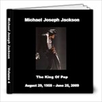 Michael Jackson 4 - 8x8 Photo Book (39 pages)