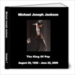 Michael Jackson 7 - 8x8 Photo Book (20 pages)