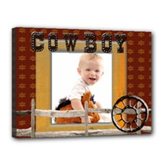 cowboy template canvas 16x12 - Canvas 16  x 12  (Stretched)