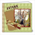 autumn my favorite season template book 30pg - 8x8 Photo Book (30 pages)