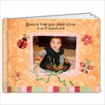 baby girl book leona (oct 28) - 9x7 Photo Book (20 pages)
