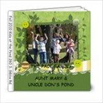 KIDS AT POND - 6x6 Photo Book (20 pages)