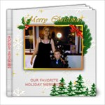 Holiday Memories - 8x8 Photo Book (20 pages)