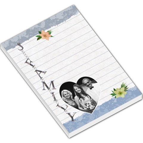 Family Large Memo Pad By Lil    Large Memo Pads   Y19j0qotvep6   Www Artscow Com