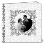 Elegant Lace Wedding Album 12x12 60 pages - 12x12 Photo Book (60 pages)