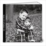 Jaxon & Hudson ~ 2010 - 8x8 Photo Book (20 pages)