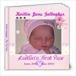 Kaitlin First Year - 8x8 Photo Book (20 pages)