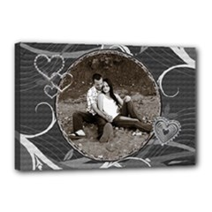 Romantic 12x18 Stretched Canvas - Canvas 18  x 12  (Stretched)