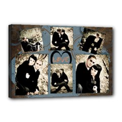 love template - Canvas 18  x 12  (Stretched)
