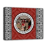 Family & Friends Christmas 14x11 Stretched Canvas - Canvas 14  x 11  (Stretched)