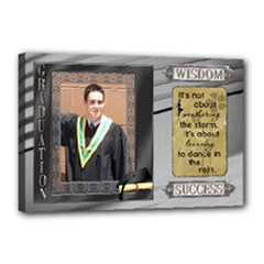 18x12 Graduation Stretched Canvas - Canvas 18  x 12  (Stretched)