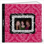 Pink, Black, & White LOVE 12x12 30 Page Book - 12x12 Photo Book (30 pages)