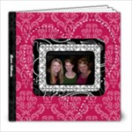Pink, Black, & White LOVE 8x8 30 Page Book - 8x8 Photo Book (30 pages)