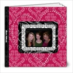 Pink, Black, & White LOVE 8x8 20 Page Book - 8x8 Photo Book (20 pages)