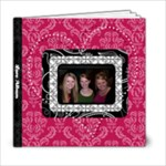Pink, Black, & White LOVE 6x6 20 Page Book - 6x6 Photo Book (20 pages)