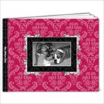 Pink, Black, & White 9x7 20 Page Book - 9x7 Photo Book (20 pages)