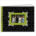 Green, Black, & White 9x7 39 Page Book - 9x7 Photo Book (39 pages)