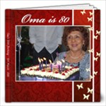 Oma s 80th Party - 12x12 Photo Book (30 pages)