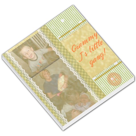 Grammy J By Michelle   Small Memo Pads   Sdhrwjrar4tw   Www Artscow Com