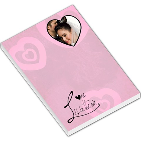 Love Is In The Air   Memopad By Carmensita   Large Memo Pads   6f84p2tuok2s   Www Artscow Com