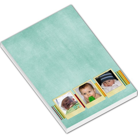 3 Photo Large Pad By Albums To Remember   Large Memo Pads   3wpjgjlx5912   Www Artscow Com