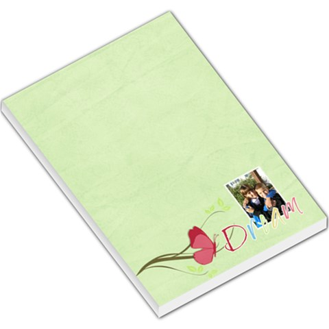 Dream By Albums To Remember   Large Memo Pads   Vwx4zm7hm0cy   Www Artscow Com