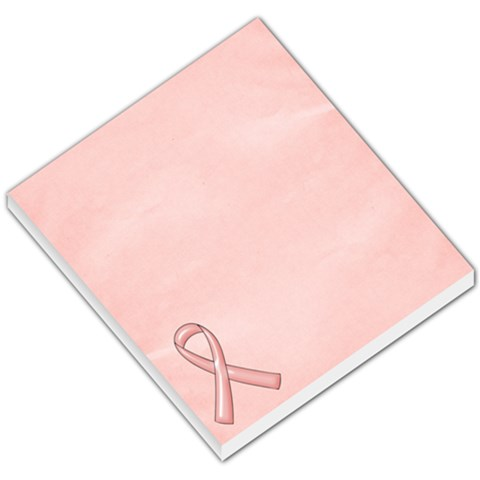 Breast Cancer Awareness Small Memo2 By Mikki   Small Memo Pads   2hkdzbu617hl   Www Artscow Com