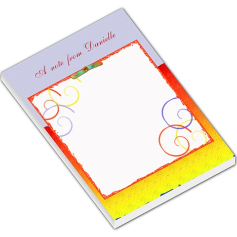 A Note From    Template By Danielle Christiansen   Large Memo Pads   Hsrh4l3wujzx   Www Artscow Com