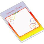 a note from... template - Large Memo Pads