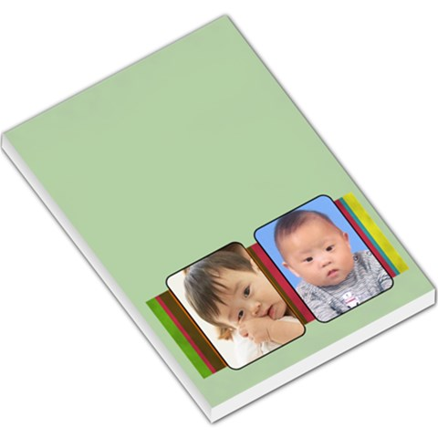 Two Frames   Large Memopad By Carmensita   Large Memo Pads   0cxaauavderj   Www Artscow Com