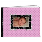 Fancy Little Girl 9x7 39 Page Book - 9x7 Photo Book (39 pages)