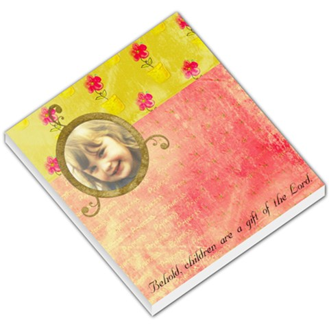 Gift From The Lord Pad By Lillyskite   Small Memo Pads   Pz765mhbi7tk   Www Artscow Com