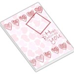 my heart belongs to you memo pad 2 - Large Memo Pads