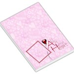 all of my heart Valentines memo pad memo pad 2 - Large Memo Pads