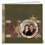 Merry Christmas 12x12 20 Page Book - 12x12 Photo Book (20 pages)