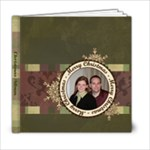 Merry Christmas 6x6 20 Page Book - 6x6 Photo Book (20 pages)