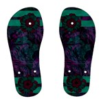 New Years Womens Flip Flops 2 - Women s Flip Flops