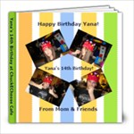 Yanas 14th Birthday - 8x8 Photo Book (20 pages)